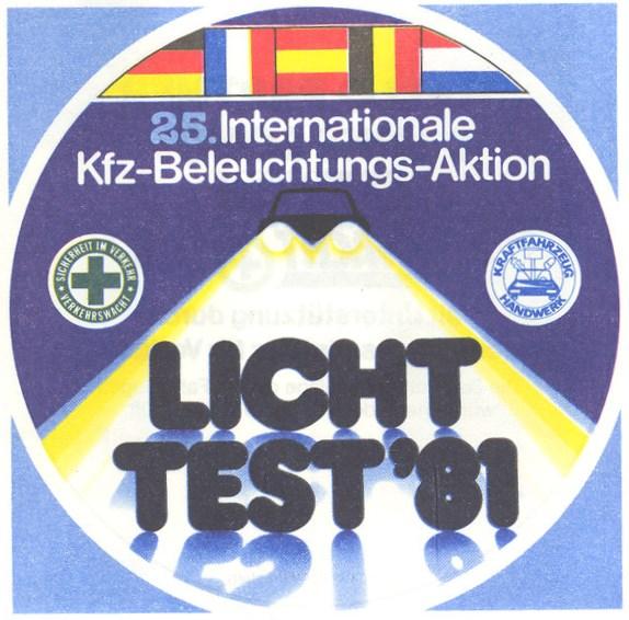 Lichttest 1981
