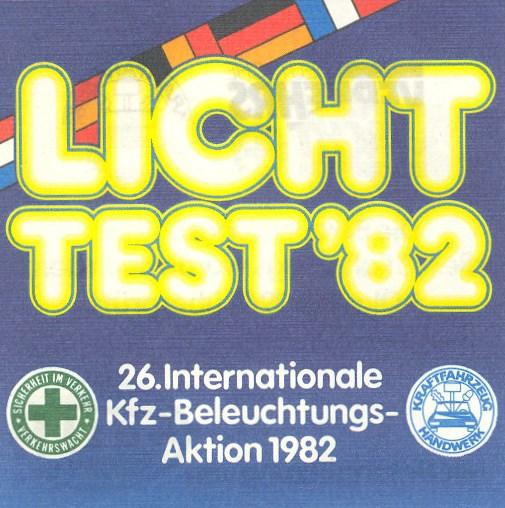 Lichttest 1982