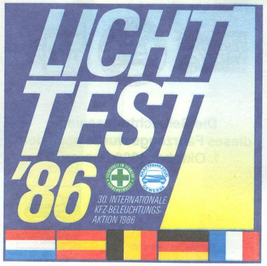 Lichttest 1986