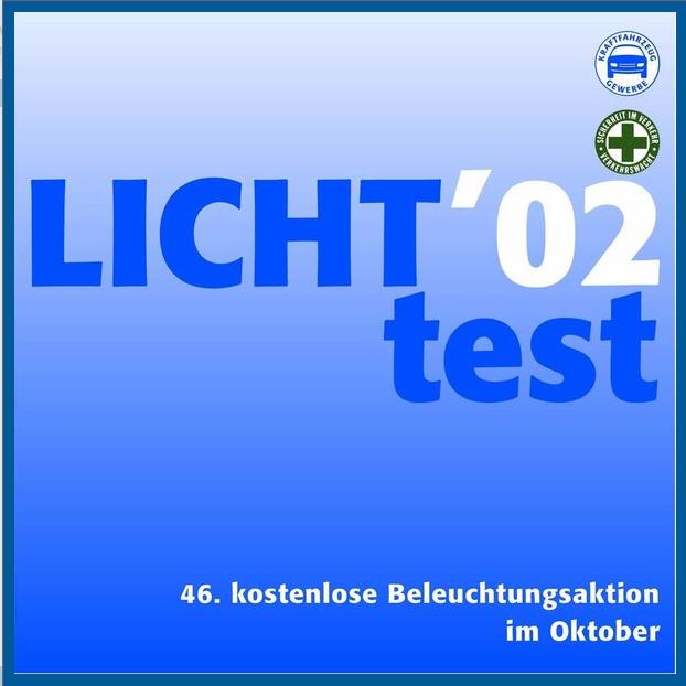 Lichttest 2002